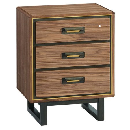 Bryce 3 Drawer Nightstand