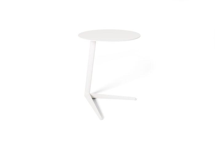 Milo Side Table in Salt