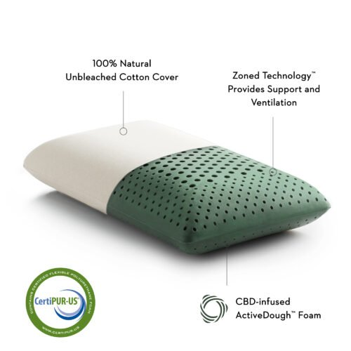 CBD Active Dough pillow by Malouf