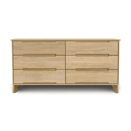 Linn 6 Drawer Dresser in Oak