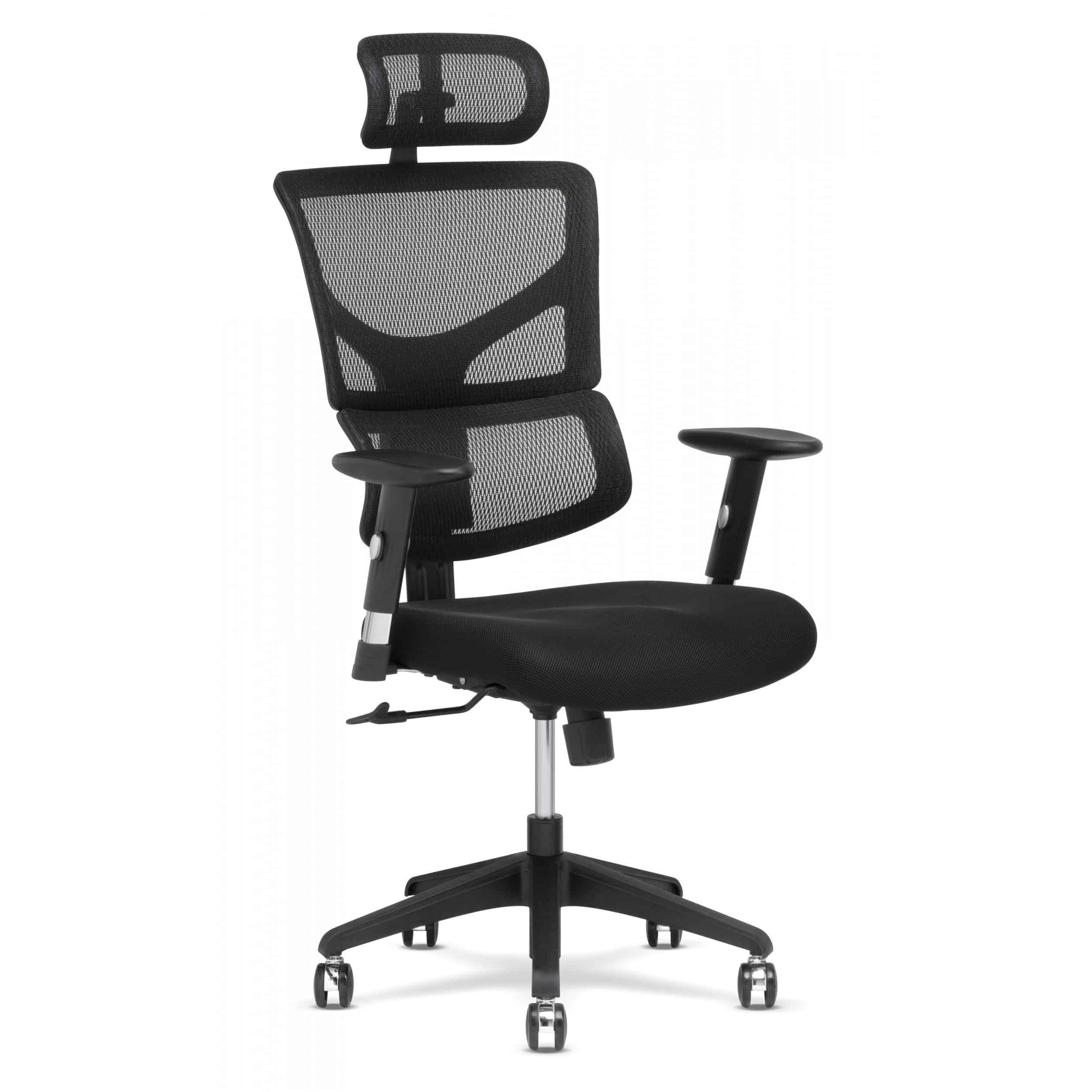 X Basic Task chair Black Mesh