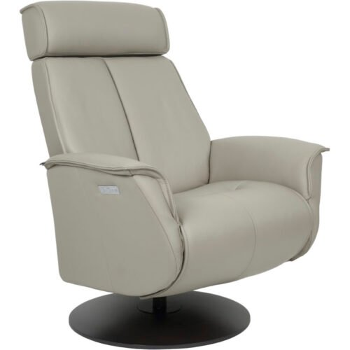 Bo Recliner in Cement Charcoal