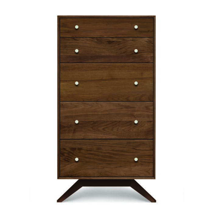 Astrid 5 Drawer Walnut