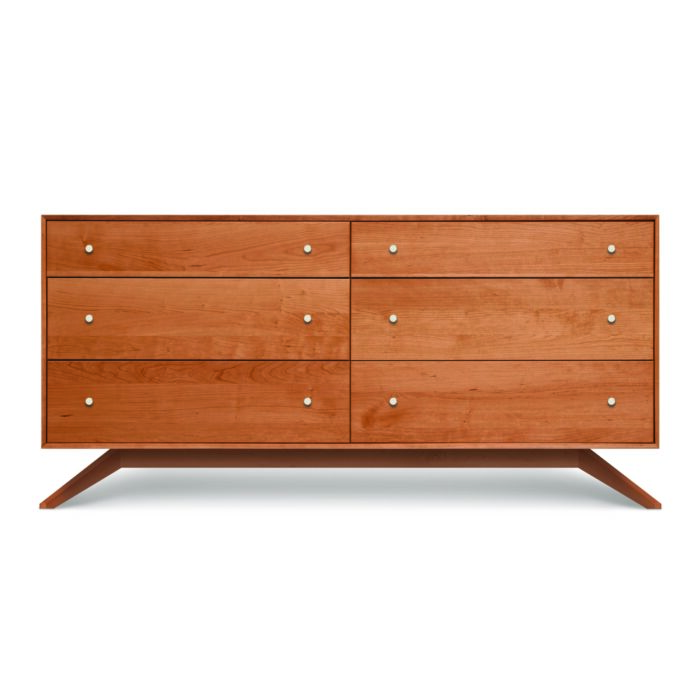 Astrid 6 Drawer Dresser Cherry