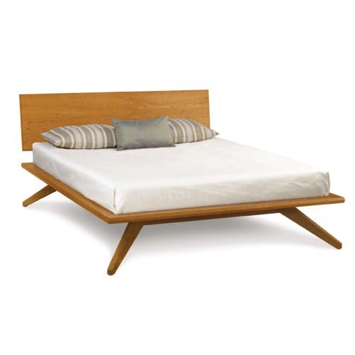 Astrid Bed in Natural Cherry