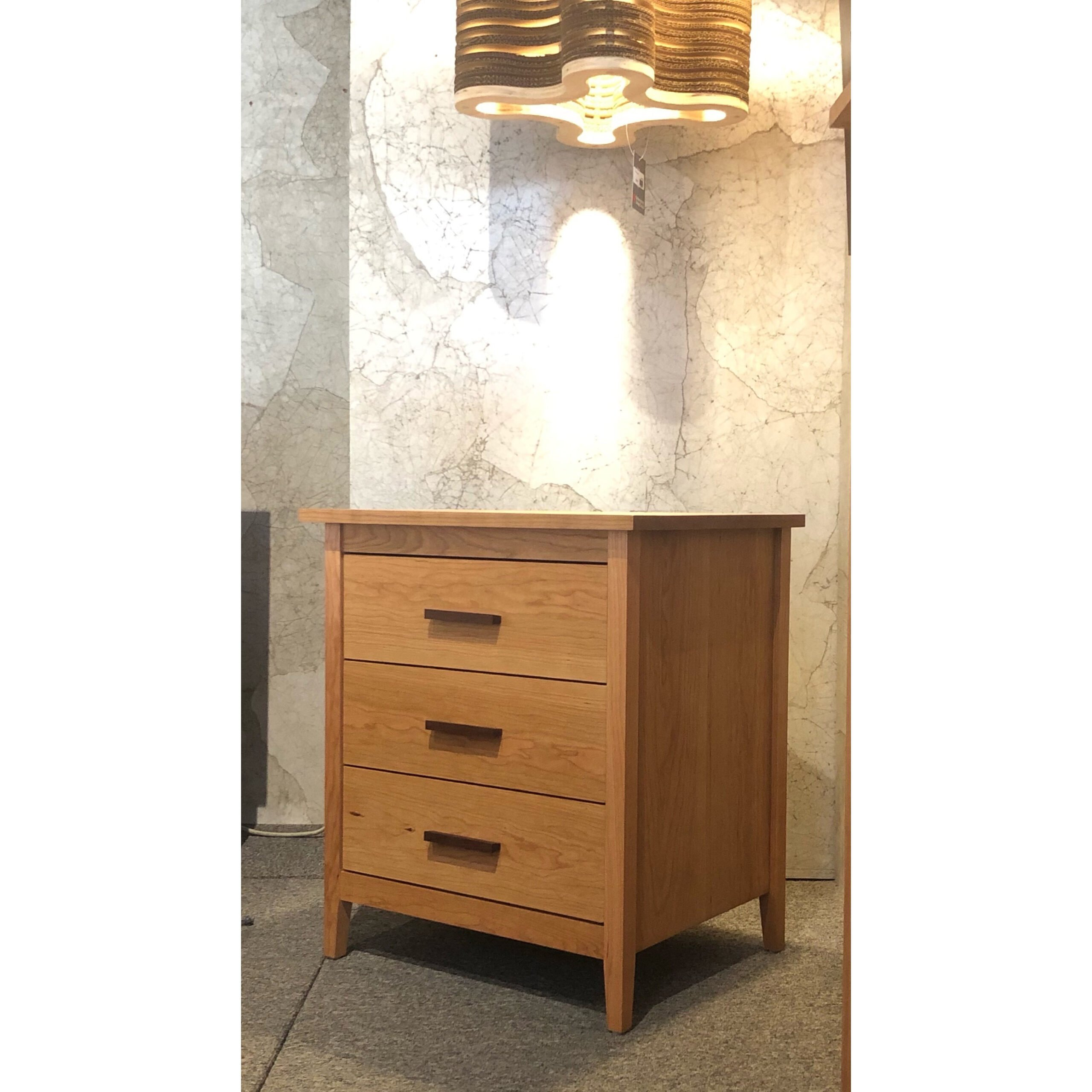 Wallace 3 Drawer Nightstand
