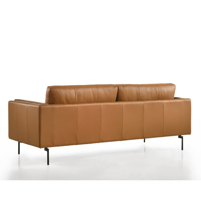 2 Seat Sofa Back with Black Legs