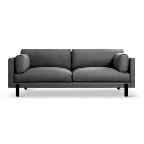 Gus Modern SilverLake Sofa in Andorra Pewter Fabric