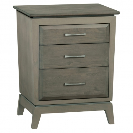 Ellison Nightstand 3 Drawer by Whittier