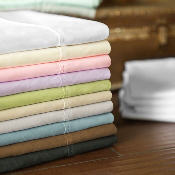 Malouf Woven Brushed Microfiber Bed Linens
