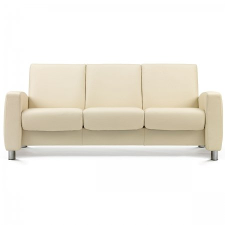 Stressless Aurora 3 Seat Low Back Sofa