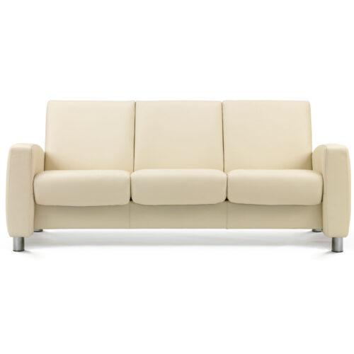 Stressless Aurora 3 Seat Low Back Sofa