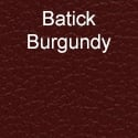 Batick Burgundy Leather