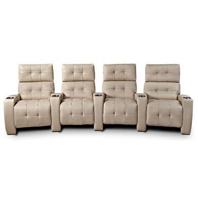 American Leather Home Theater