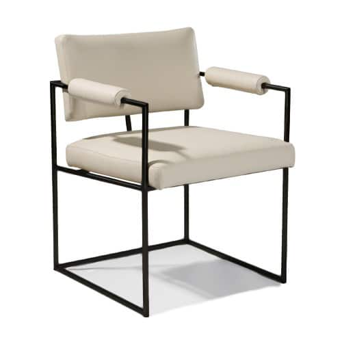 The Design Classic Dining Chair, Design by Milo Baughman. Made in the U.S.A. by Thayer Coggin.