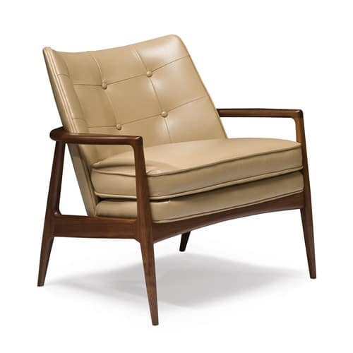 The Draper Lounge Chair Design by Milo Baughman. Made in the U.S.A. by Thayer Coggin