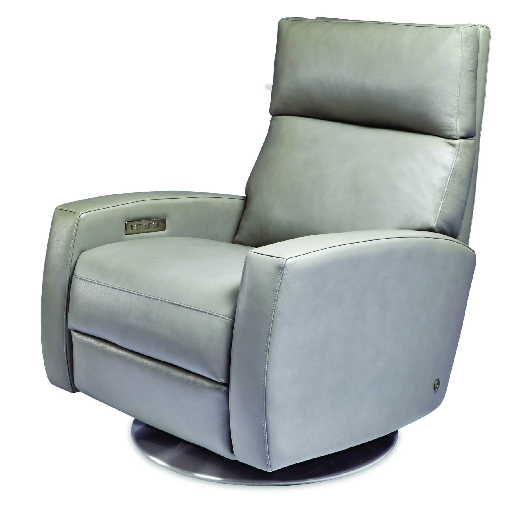 Elliot Comfort Recliner By American Leather In Bali Capri