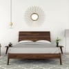Linn bed frame by Copeland furniture head on view