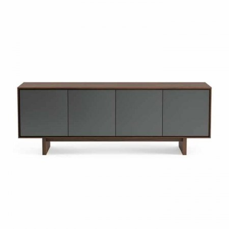 Octave 8379 BDI media cabinet toasted walnut gallery