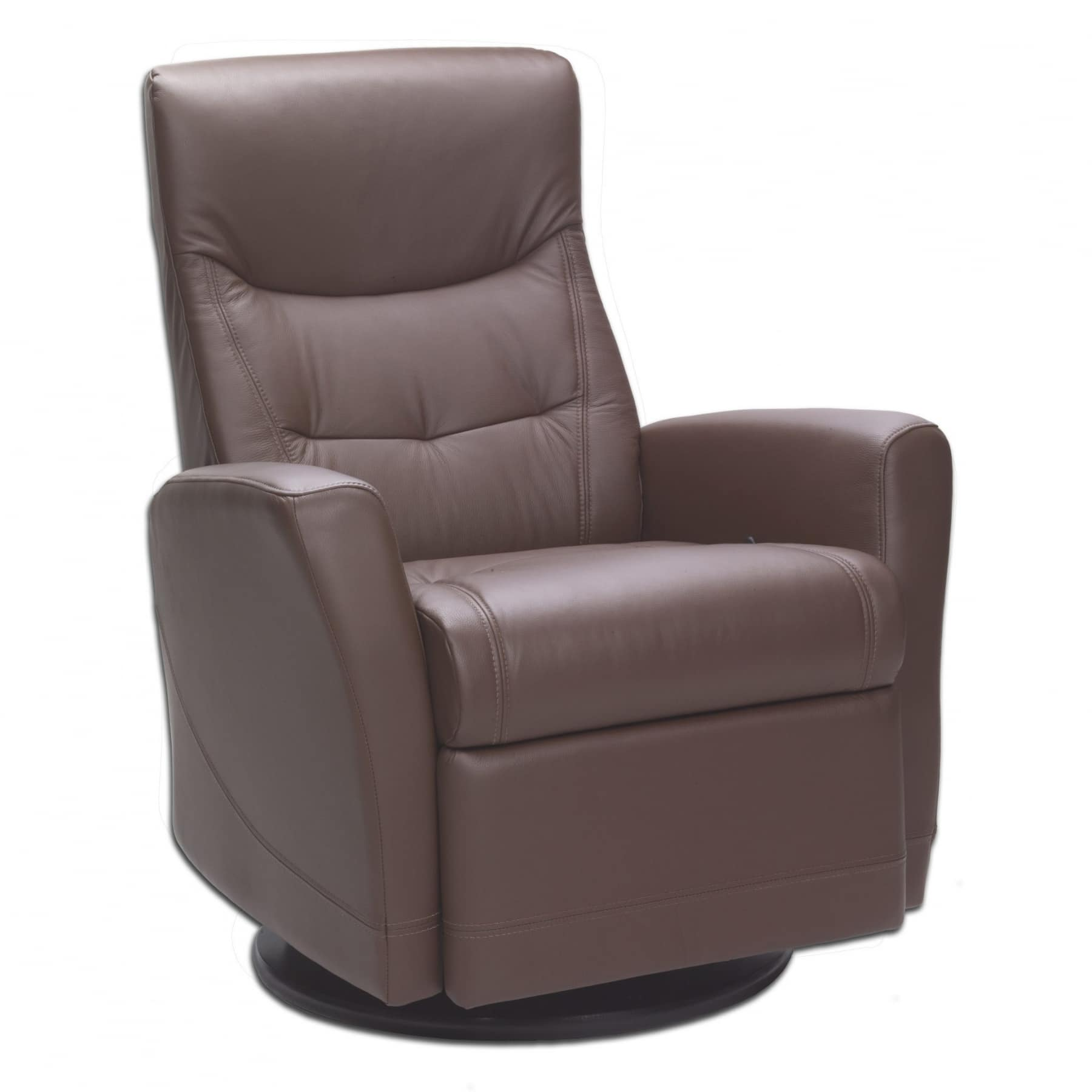 Fjords Oslo Swing Recliner Walnut
