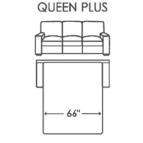 Queen Plus Size Comfort Sleeper
