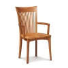 Sarah Armchair Wood Seat