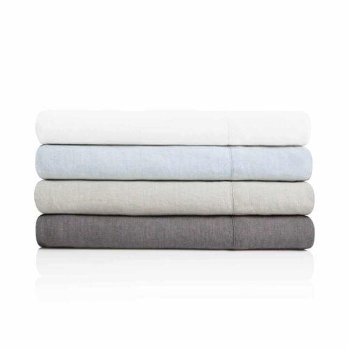 Malouf Woven French Linen Sheets