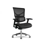 X Chair Black