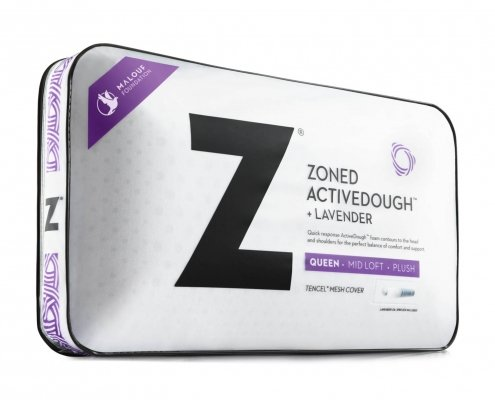 Malouf Z Zoned ActiveDough Pillow Lavender