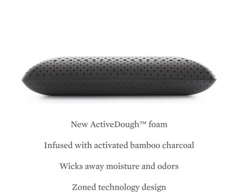 Malouf Z Zoned ActiveDough Pillow Charcoal