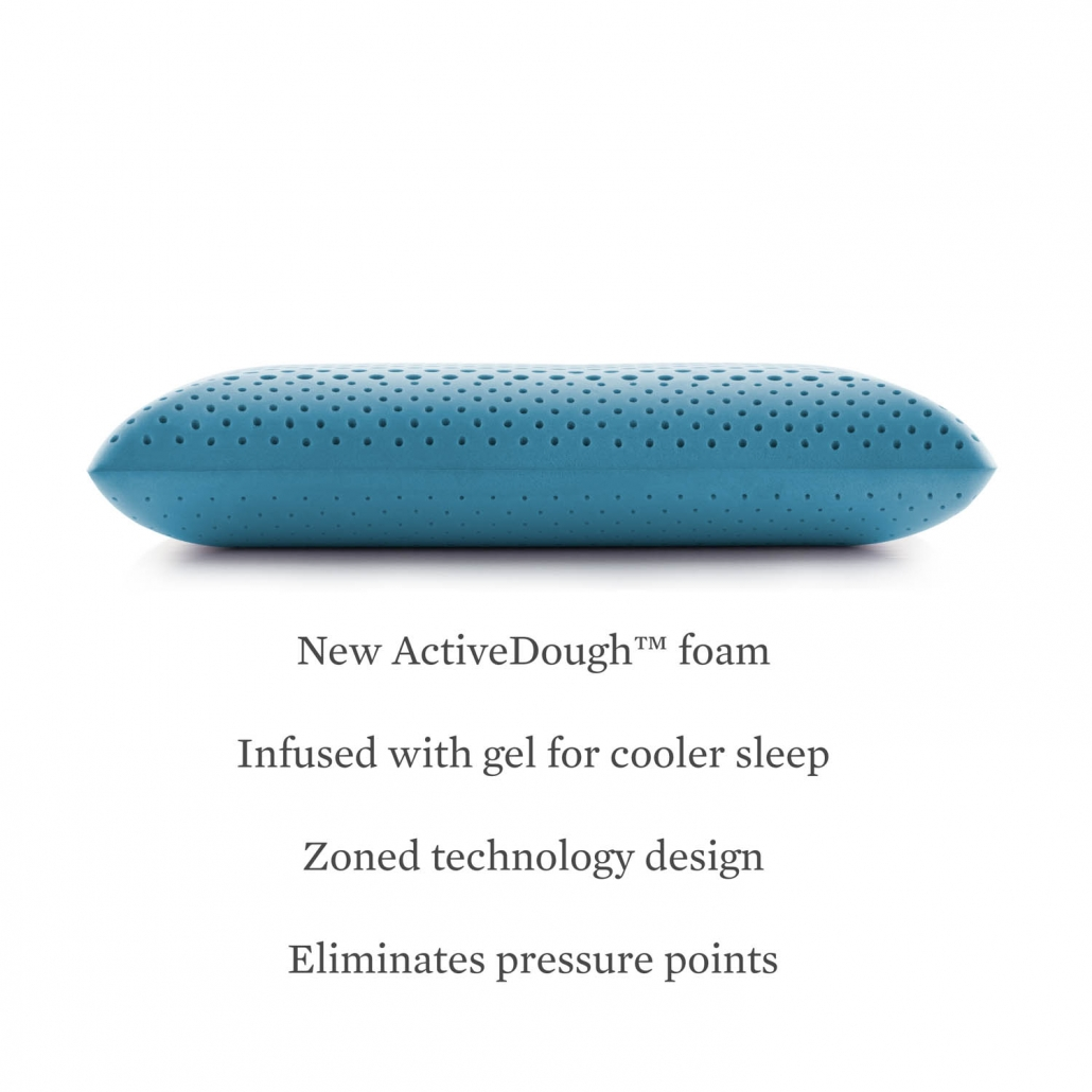 Malouf Zoned Activedough Cooling Gel Ironhorse Home