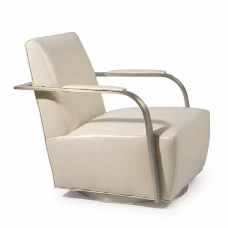 The Zac Swivel Chair Design by Milo Baughman. Made in the U.S.A. by Thayer Coggin.