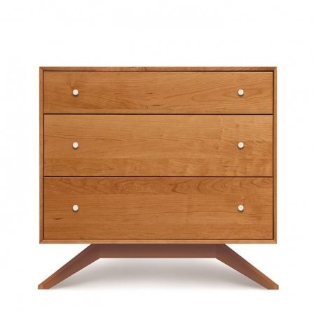 Astrid 3 Drawer Dresser by Copeland in Maple
