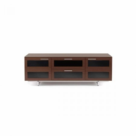 avion 8927 BDI flat panel tv cabinet chocolate stained walnut