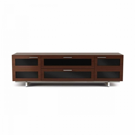 avion 8929 BDI flat panel tv cabinet chocolate walnut