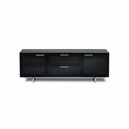 avion noir 8937 BDI tv cabinet black