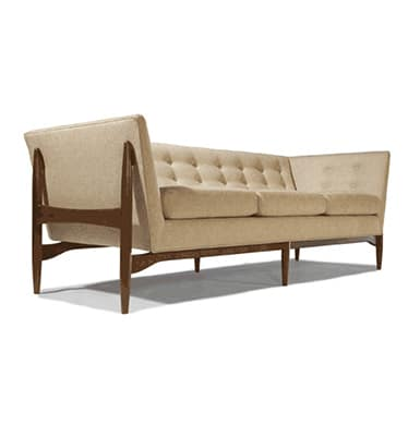 The Button Up Sofa, Design by Milo Baughman. Made in the USA by Thayer Coggin.