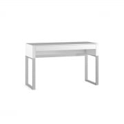 Cascadia 6202 console laptop desk by BDI in white