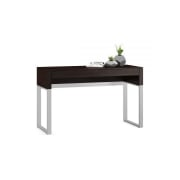 Cascadia 6202 console laptop desk by BDI in espresso