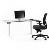 centro office 6452 BDI height adjustable standing desk white