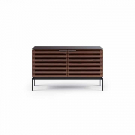 corridor 7128 BDI media console chocolate