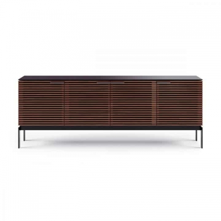 corridor 7129 BDI media console chocolate