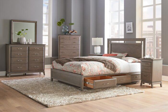 Ellison Panel Storage Bed by Whittier