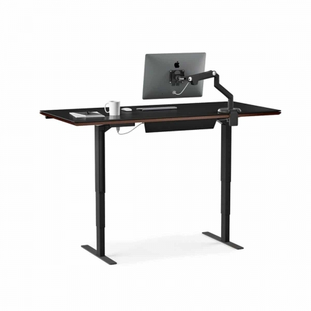 sequel 6052 BDI lift desk chocolate