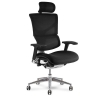 x3 Chair Black Fabric