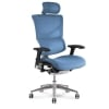 x3 Chair Blue Fabric