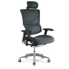 x3 Chair Grey Fabric