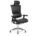 x4 Chair Black Leather