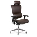x4 Chair Brown Leather