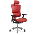 x4 Chair Red Leather